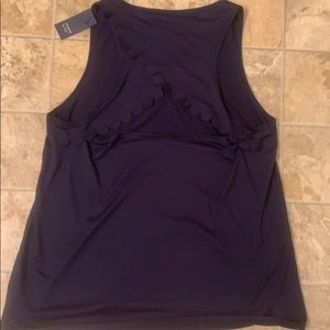 NWT Crown & Ivy Open Back Top size XL